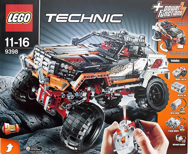 Лего техник 9398 инструкция по сборке