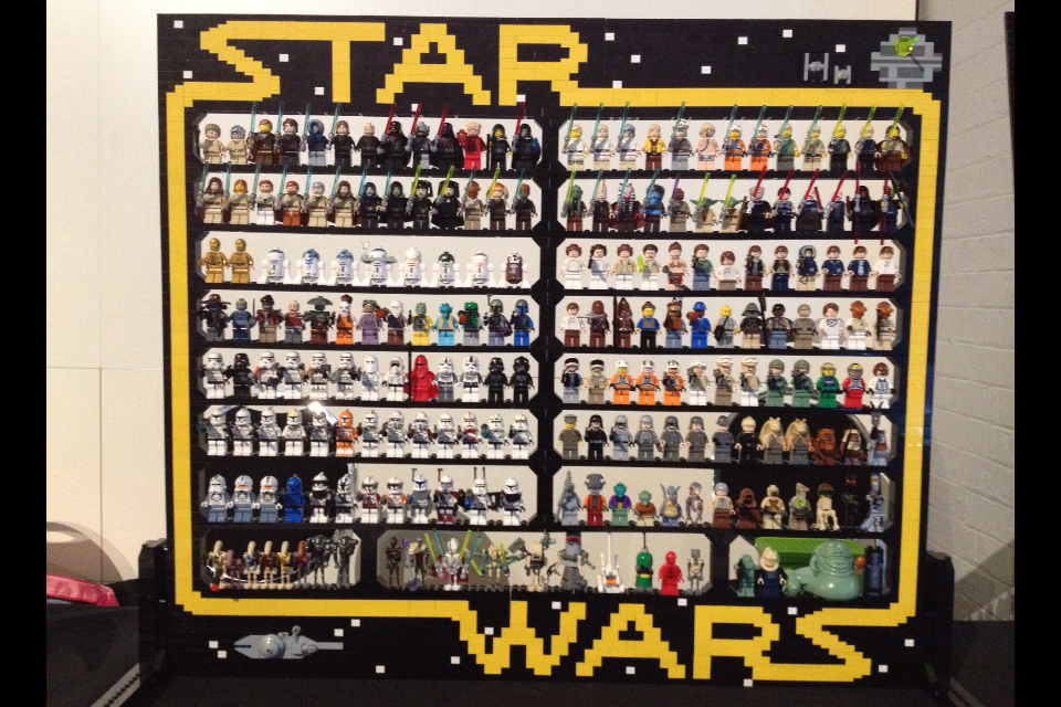 SW Minifig display stand - LEGO Star Wars - Eurobricks Forums