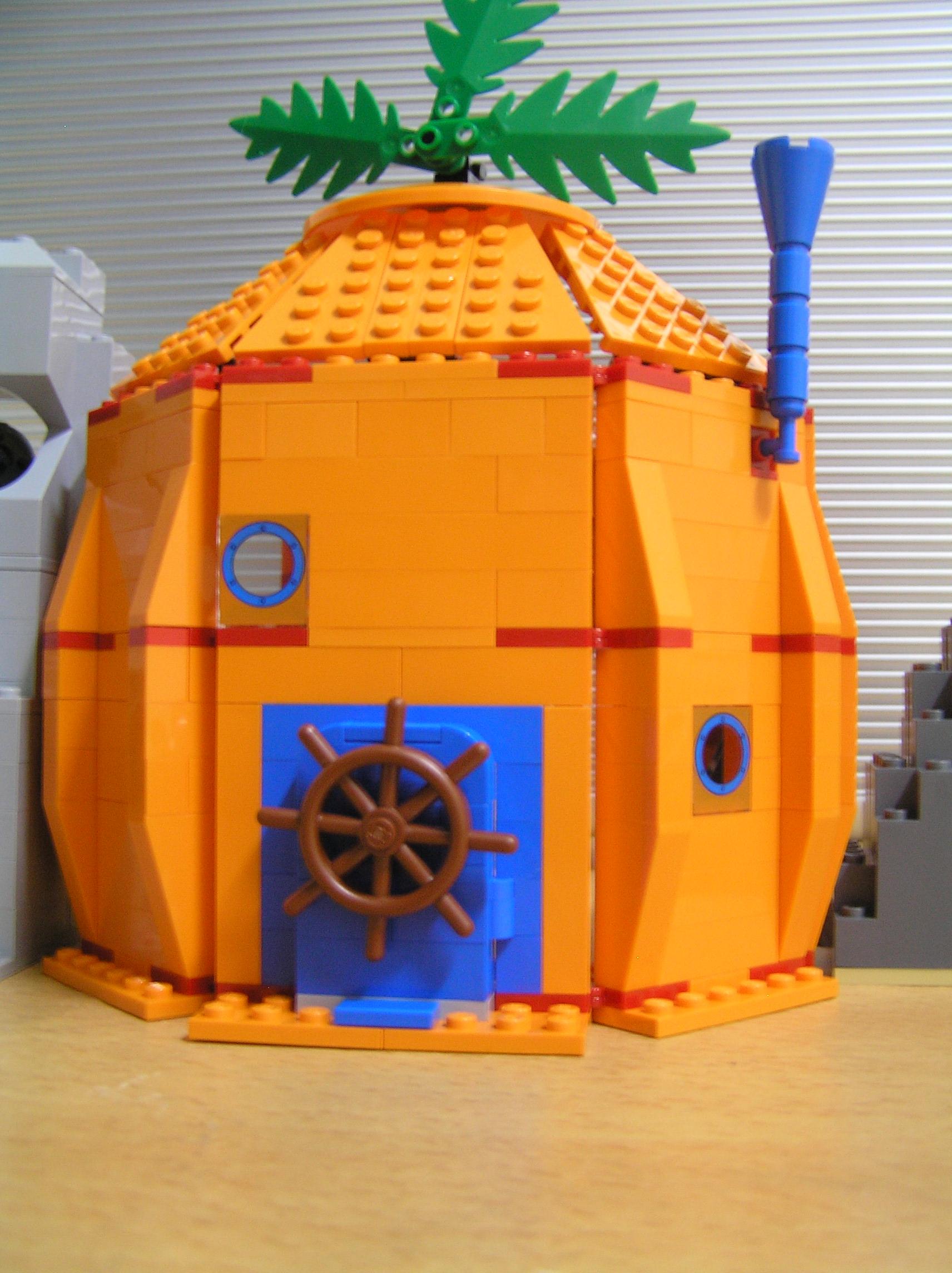 先来介绍海绵宝宝的房子:凤梨屋