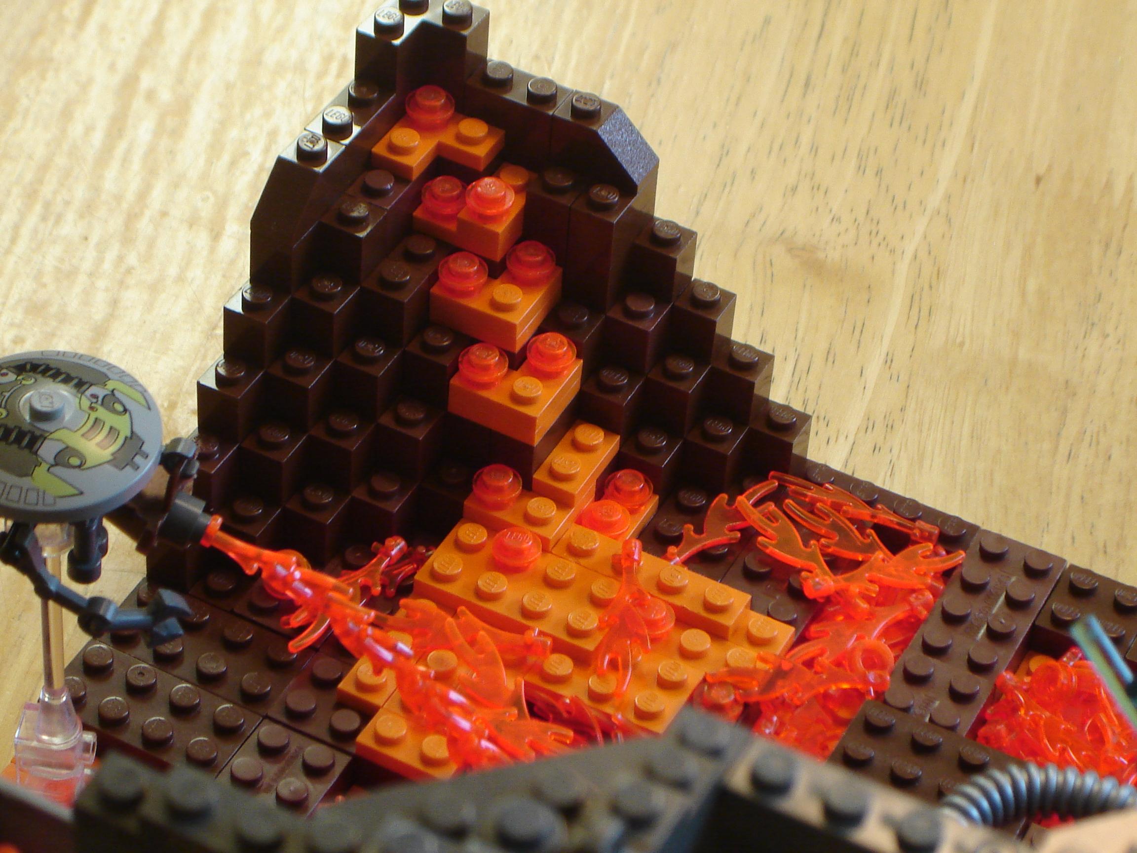 Mustafar Diorama Moc Lego Star Wars Eurobricks Forums