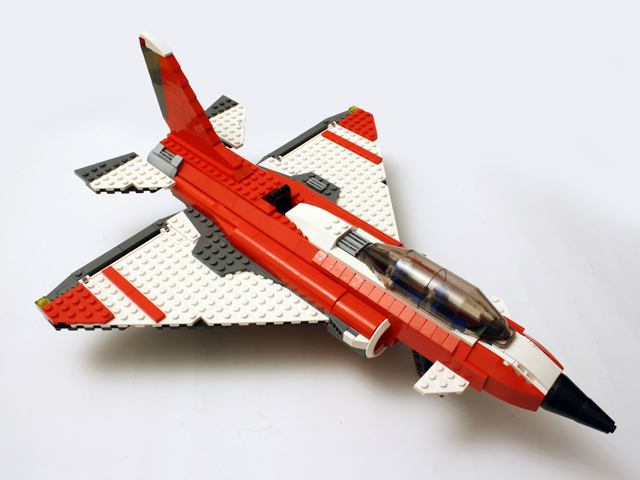 Lego Army Jets I say jet fighter - that sLikhte Chai Amar Lekha