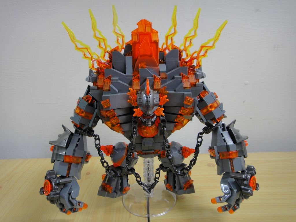 hero factory fire lord instructions