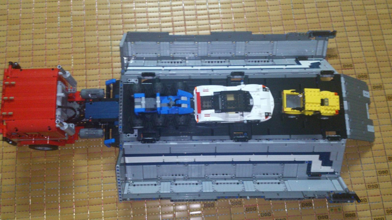 【yysmoc】货柜车(擎天柱造型)【新增车头ldd图纸】