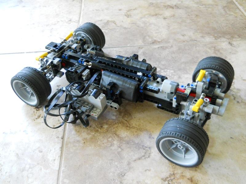 Suspension Or No Suspension Lego Technic Mindstorms Model