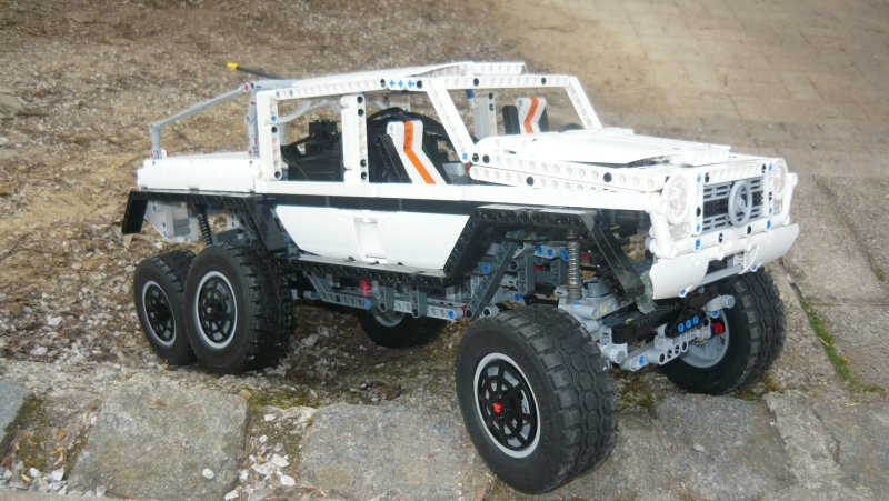 mercedes amg 6x6 like truck page 2 lego technic. Black Bedroom Furniture Sets. Home Design Ideas