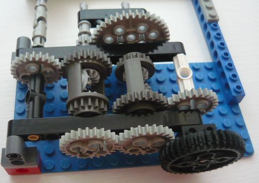 Как сделать механическую коробку 720