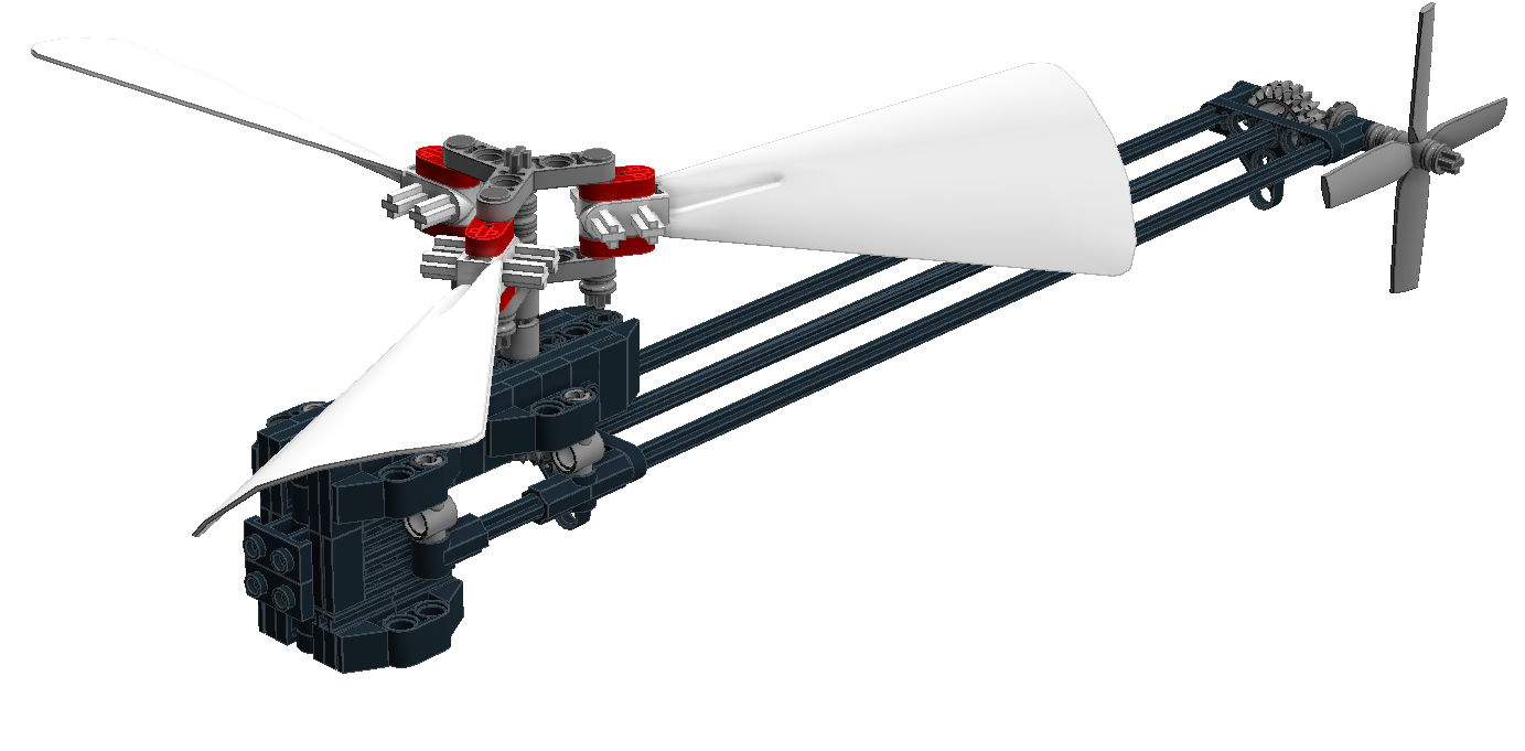 Help Me Make A Flying Helicopter Lego Technic