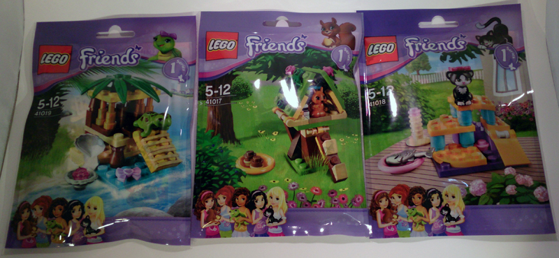 Review Friends Animals Polybags Wave 1 Lego Town Eurobricks Forums