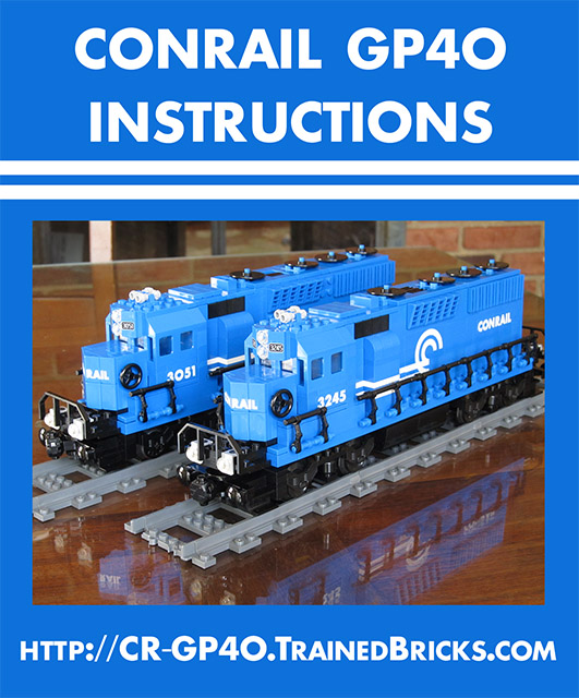 Conrail Gp40 Building Instructions Lego Train Tech Eurobricks Forums